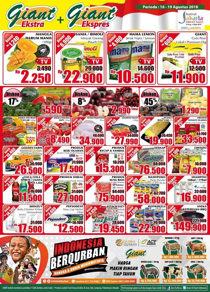Katalog Promo Jsm Giant Supermarket 16 19 Agustus 2018