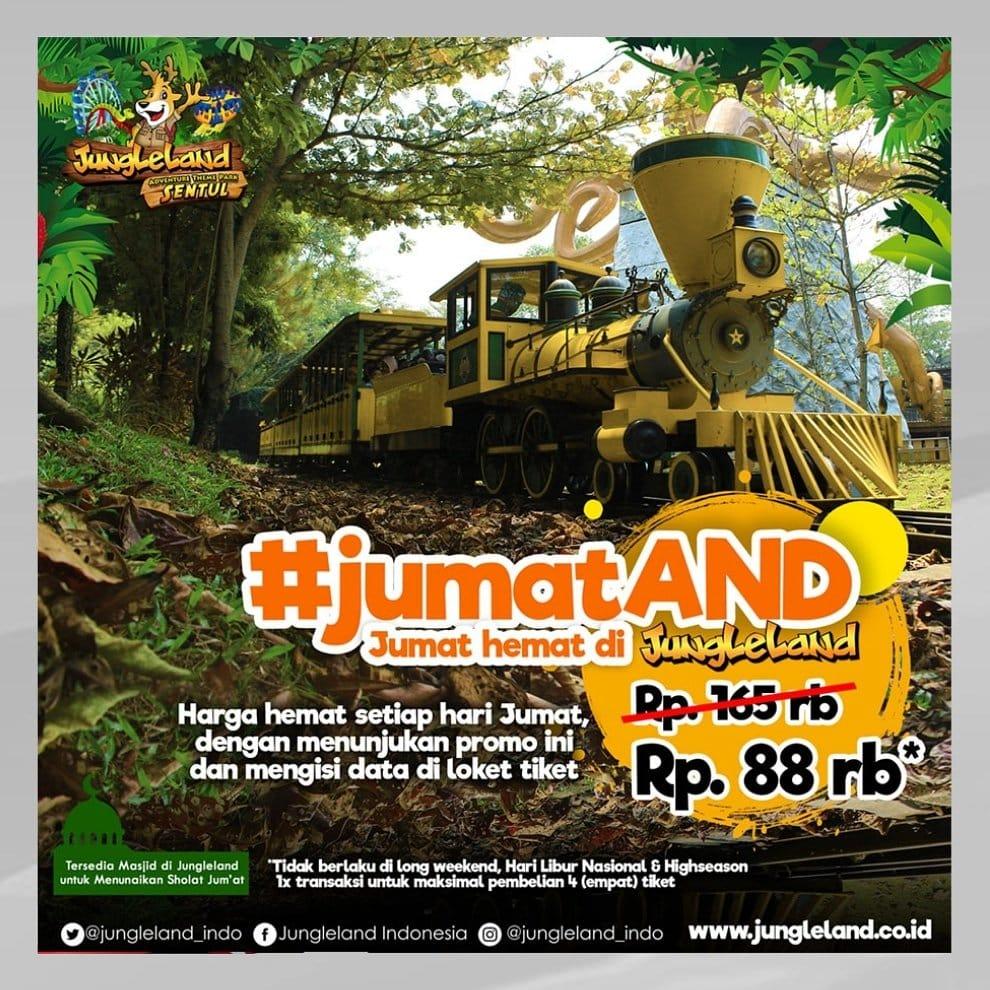 Jungleland Promo JumatAND! Harga Spesial Tiket Masuk Cuma Rp. 88 Ribu