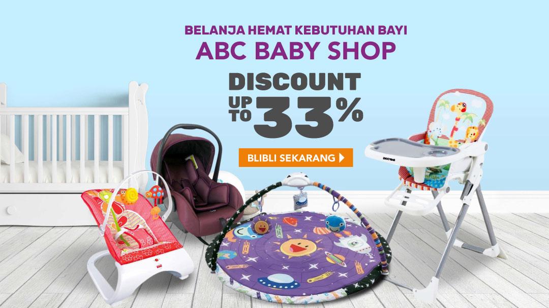 Blibli Promo ABC Baby Shop, Diskon Hingga 33%