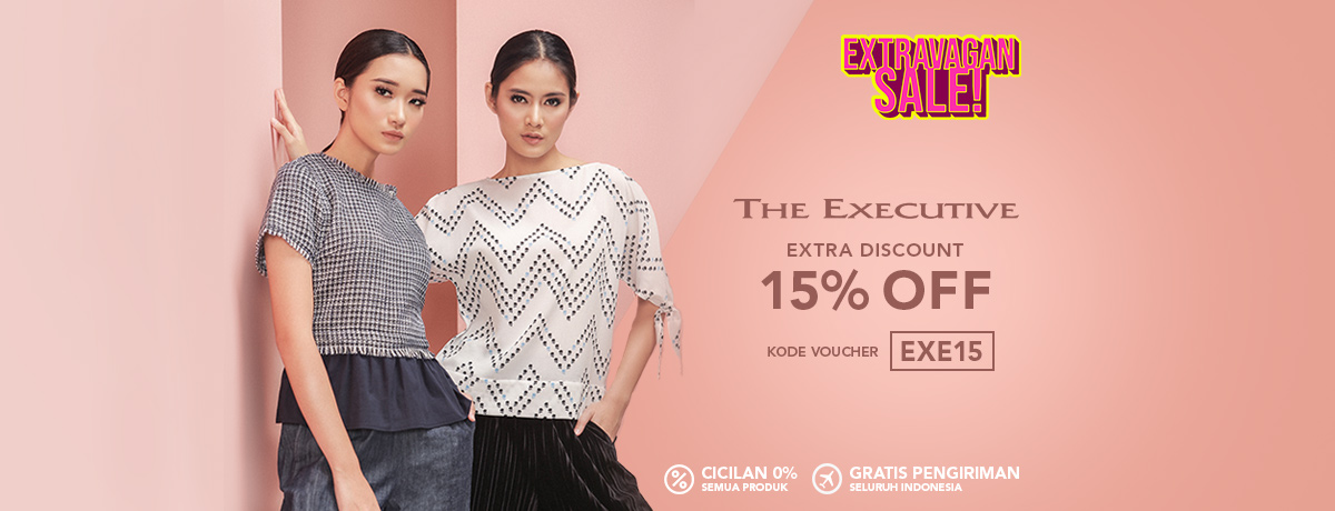 Blibli Promo The Executive Super Sale, Diskon Ekstra 15%