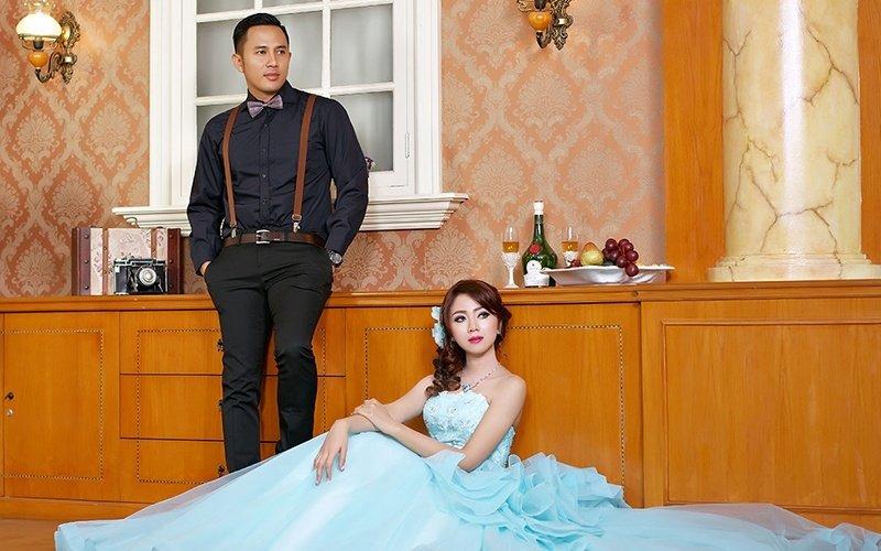 Fave Promo Voucher Prewed Indoor Photoshoot Fari Cucu Foto Bridal Salon, Diskon 66%