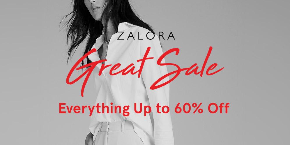 Zalora Great Sale Is Back! Diskon Hingga 60%