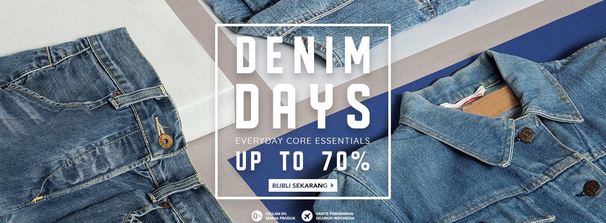Blibli Promo Denim Days Big Sale, Diskon Hingga 70%