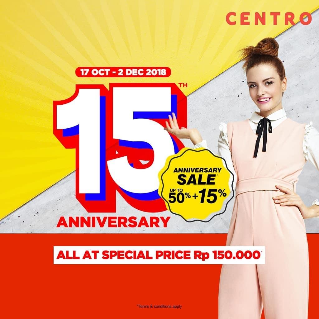 Centro Department Store BRANDED SUPER SALE! Diskon Hingga 50%