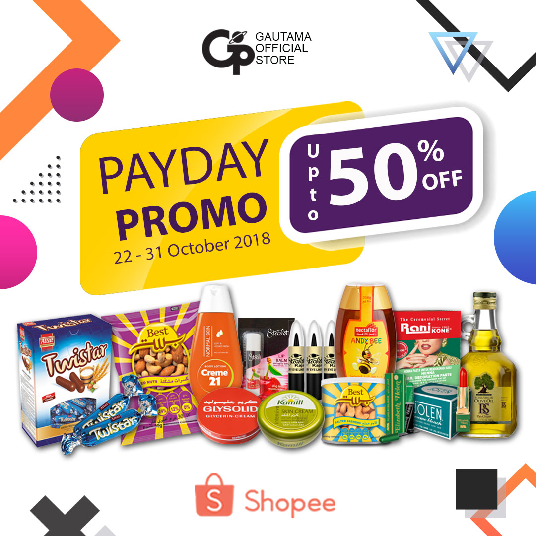 Payday Promo up to 50%!Gautama Indah Perkasa Official Store