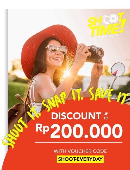 Blibli Promo Shoot Time Sale! Diskon Hingga Rp 200 Ribu