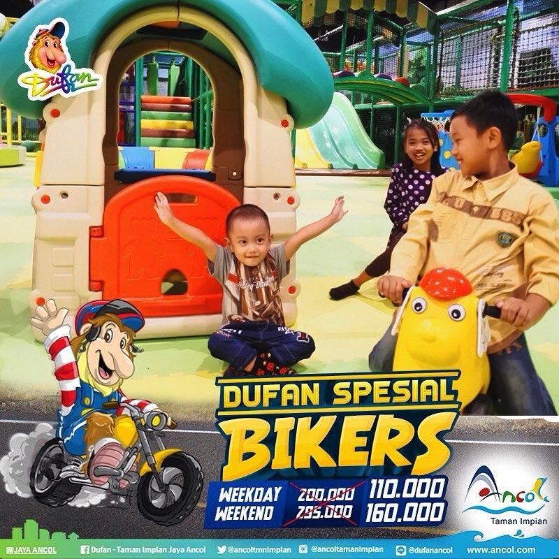 Ancol Dufan Promo Spesial Biker! Harga Spesial Tiket Masuk Mulai Dari Rp. 110.000