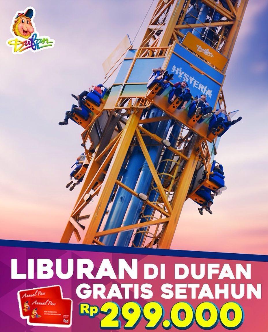 Ancol Dufan Promo Annual Pass Oktober! Harga Spesial HANYA Rp. 299.000