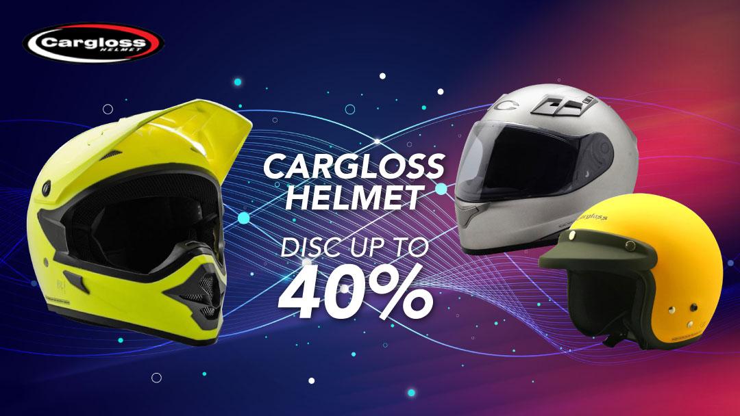 Blibli Promo Cargloss Helmet, Diskon Hingga 40%