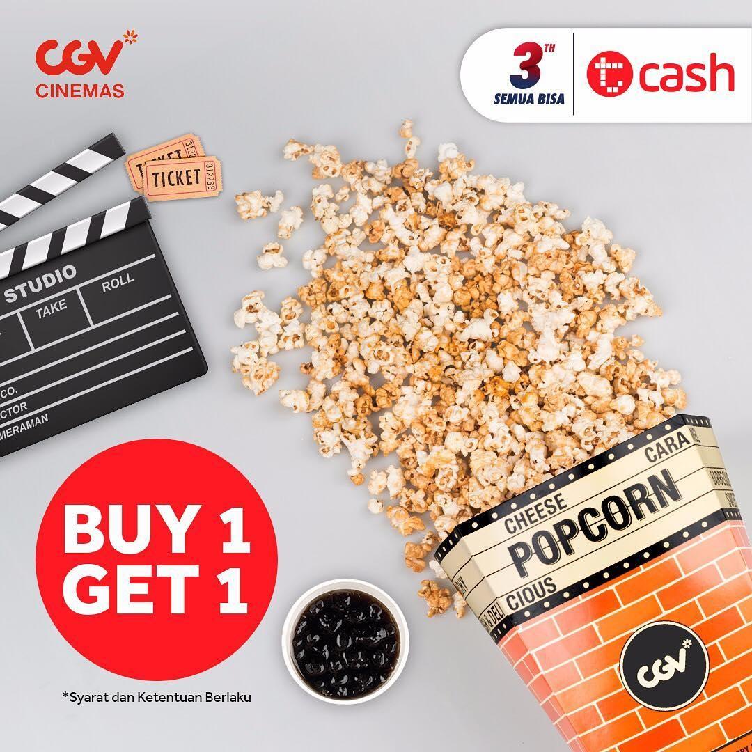 CGV Cinema Promo Nonton Lebih Hemat Dengan TCash! Buy 1 Get 1 Free