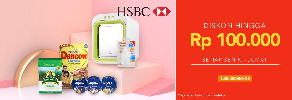 Blibli Promo HSBC Everyday Deals, Diskon Hingga Rp 100 Ribu