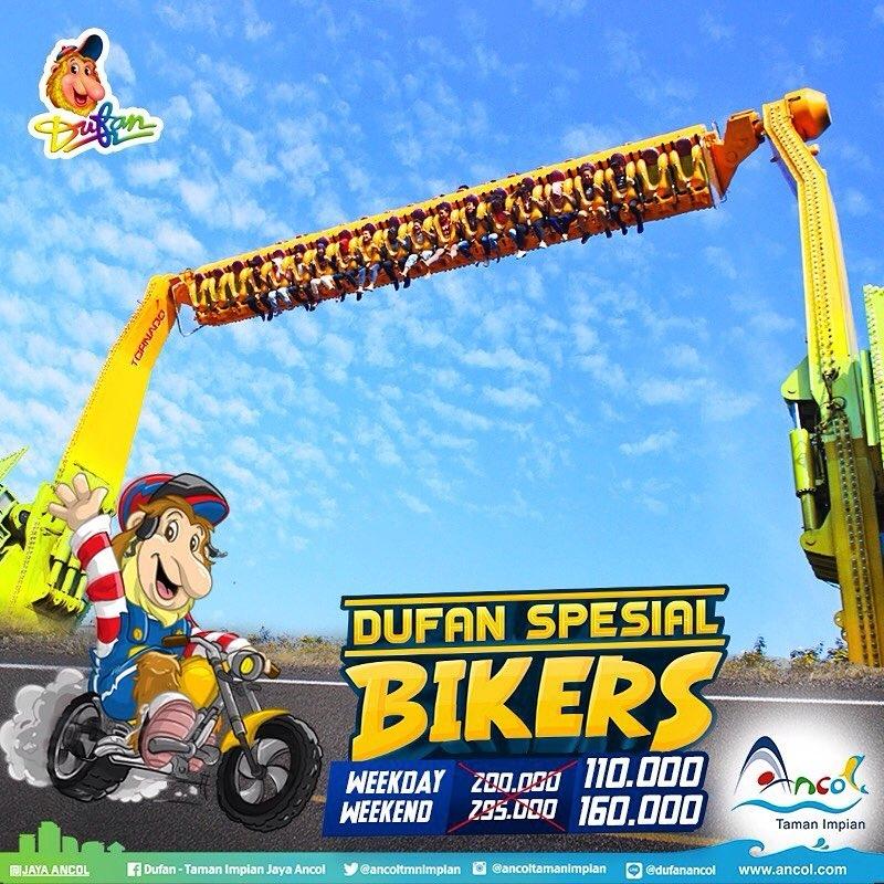 Ancol Dufan Promo Spesial Biker! HTM Mulai Dari Rp. 110.000