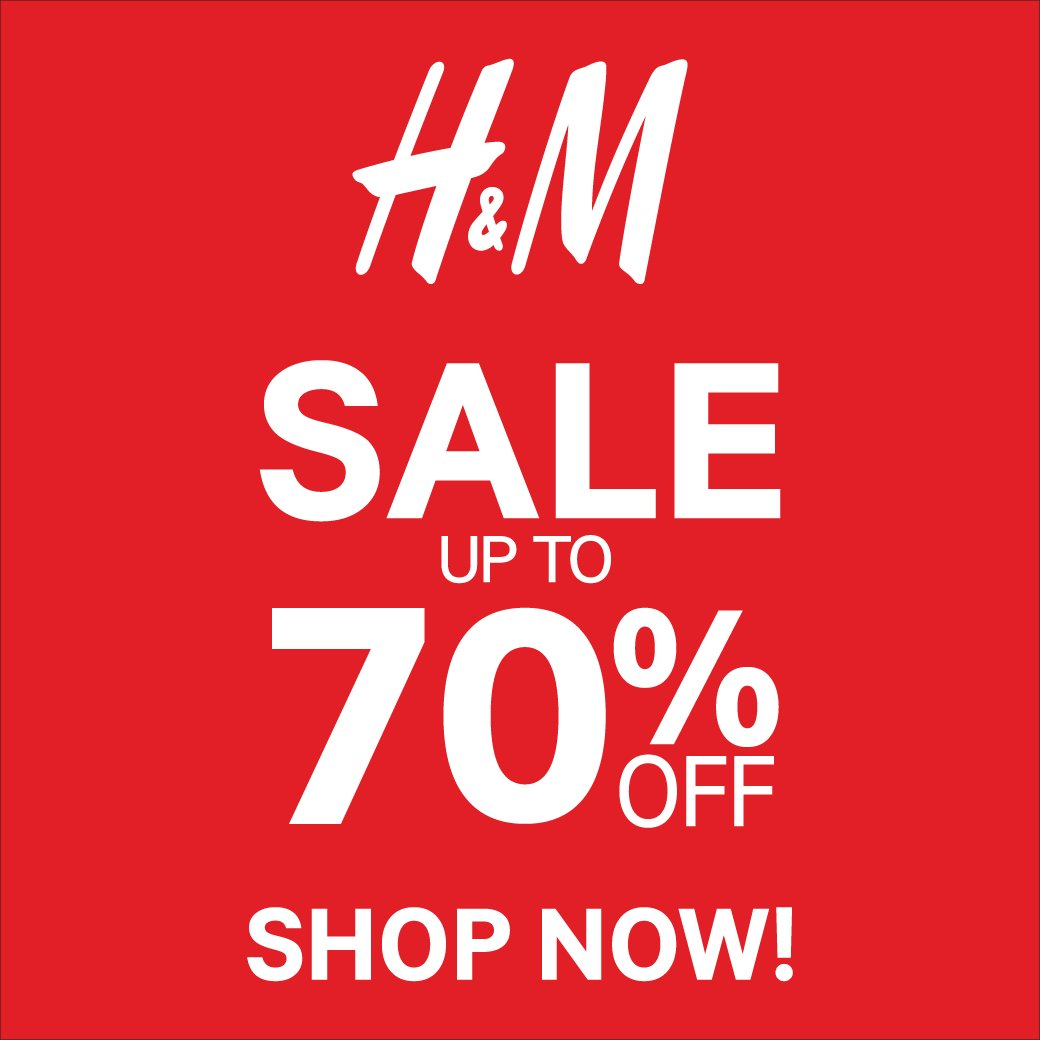 H&M Fashion Biggest Sale Ever! Diskon Hingga 70%