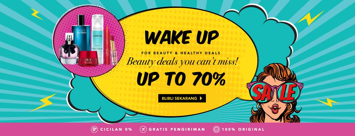 Blibli Promo Beauty Deals, Diskon Hingga 70%