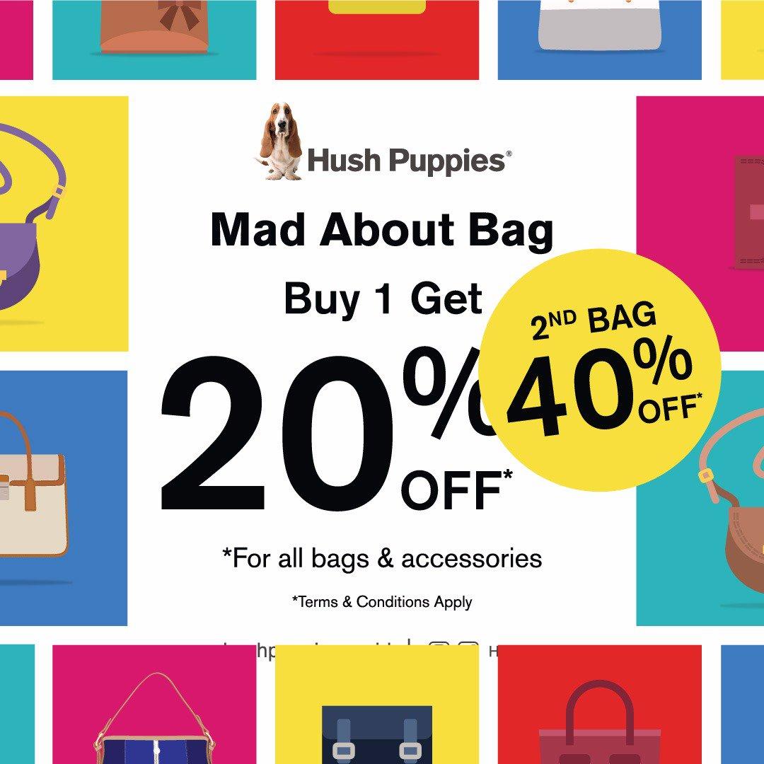 Hush Puppies Promo Bag & Accessories! Diskon Hingga 40%