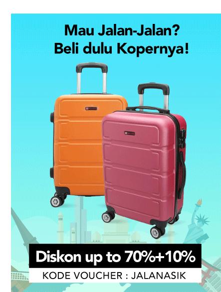 Blibli Promo Koper Termurah, Diskon Hingga 70% & Diskon Ekstra 10%