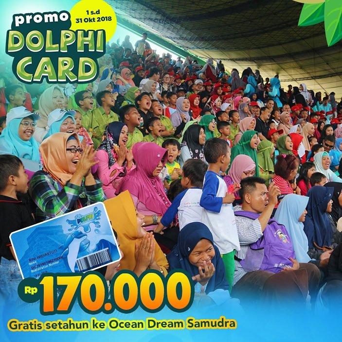 Ocean Dream Samudra Promo Dolphi Card! Gratis Main Setahun Hanya Bayar Rp. 170.000