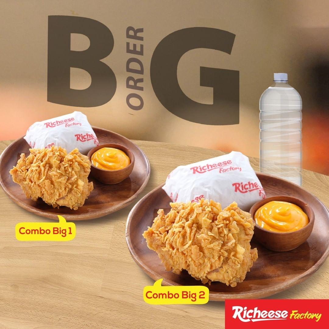 Richeese Factory Promo Menu BIG ORDER! Harga Paket Mulai Rp. 17 Ribuan