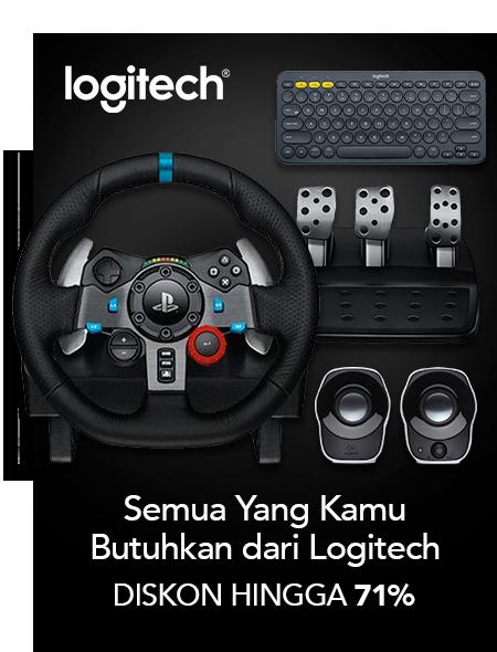 Blibli Promo Produk Logitech, Diskon Hingga 71%