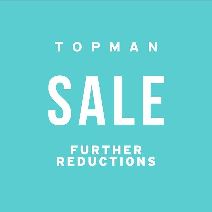 Topman Super Big Sale! Diskon Hingga 50%
