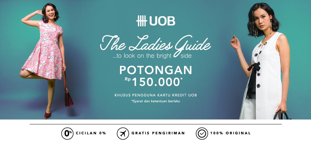 Blibli Promo UOB The Ladies Guide, Diskon Rp 150 Ribu