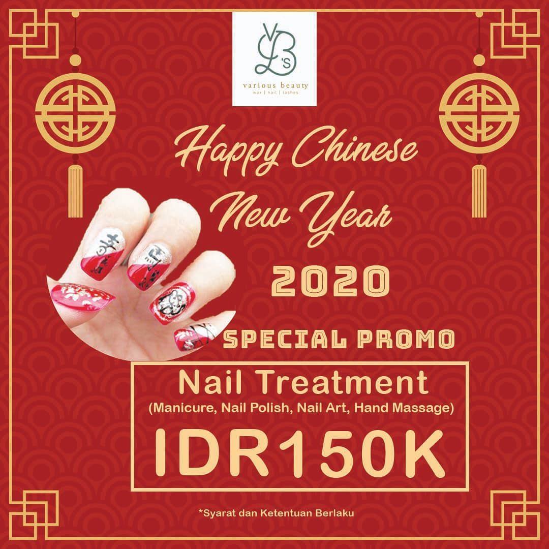 Various Beauty Salon Promo Spesial Imlek, Nail Treatment Hanya Rp. 150 Ribu!