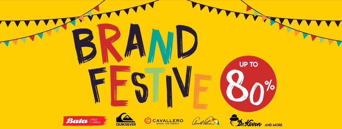 Blibli Brand Festive Sale, Diskon Hingga 80%