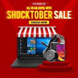 KlikNKlik Promo SHOCKTOBER SALE, Diskon Hingga 39% + Cashback Sampai Rp. 4 Juta!