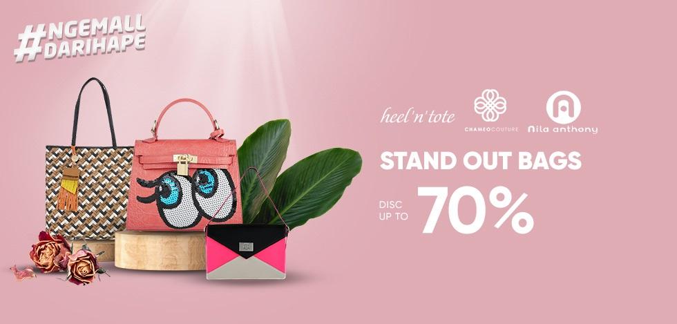 iLotte Promo Stand Out Bags, Tas Wanita Diskon Hingga 70%