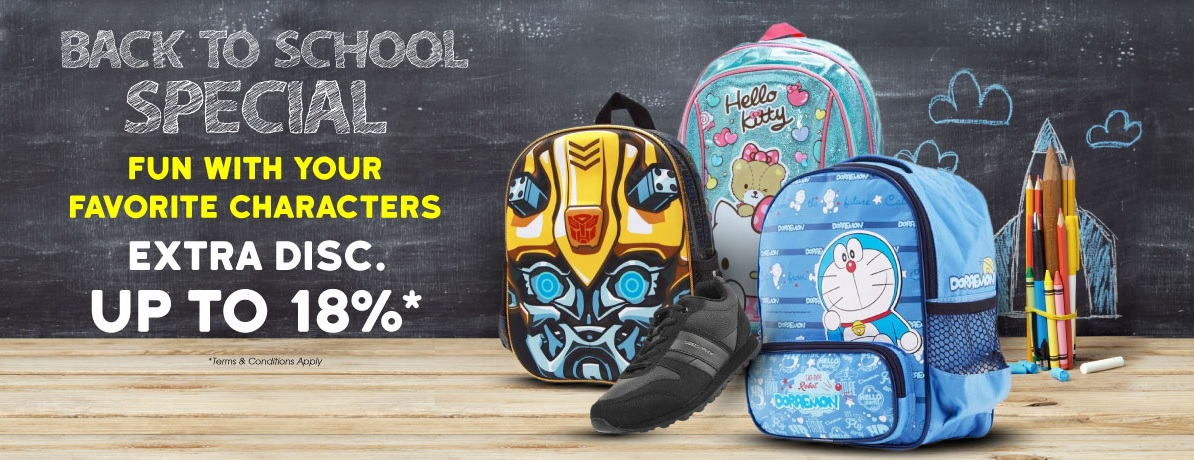 Blibli Promo Back To School Special Extra Discount 18%