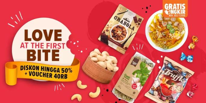 Lazada Promo Produk Snack Pilihan, DISKON Hingga 50% + Voucher 40rb