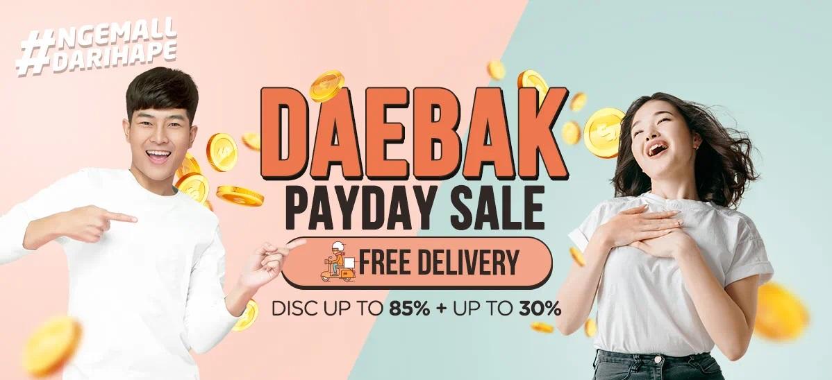 iLotte Promo Daebak Payday Sale, Diskon Hingga 85% + 30% & Gratis Ongkir