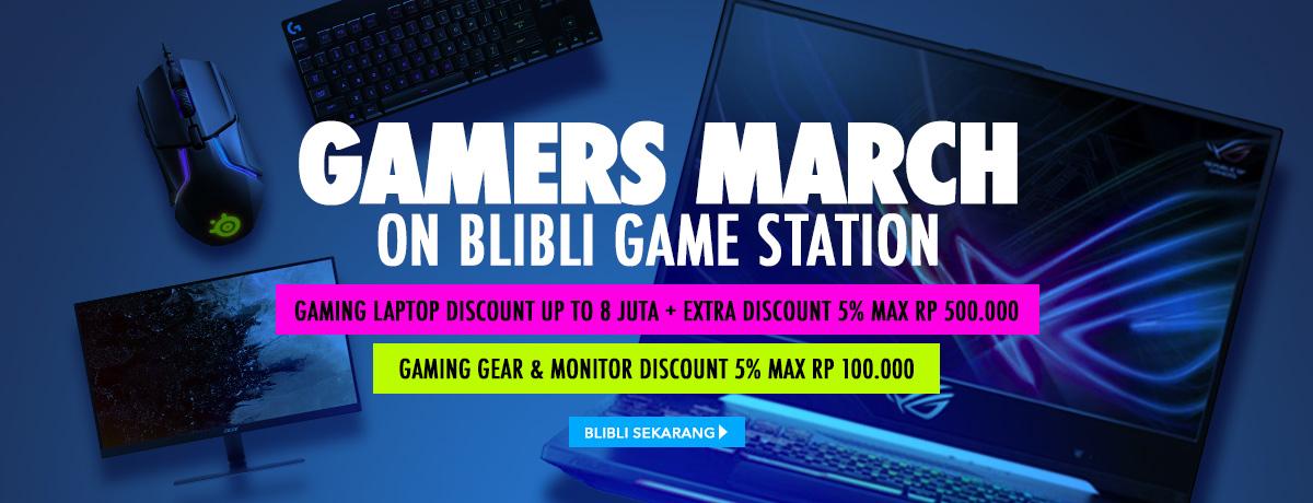 Blibli Gaming March Biggest Sale, Gebyar Diskon Dan Harga Spesial