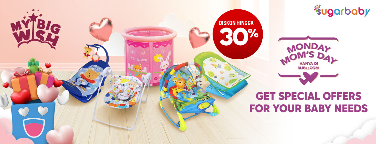Blibli Promo Monday Mom's Day, Diskon Hingga 30%