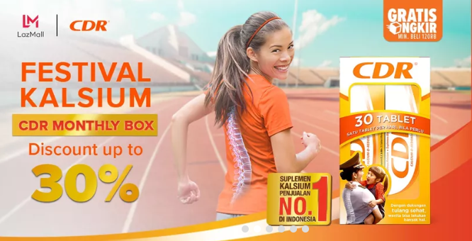 Lazada CDR Monthly Box Special Offer, DISKON Sampai 30%