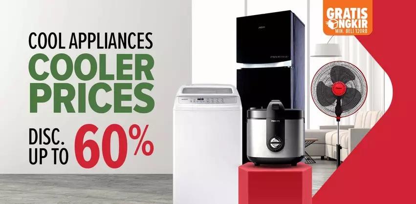 Lazada Promo Cool Appliances, Diskon hingga 60%