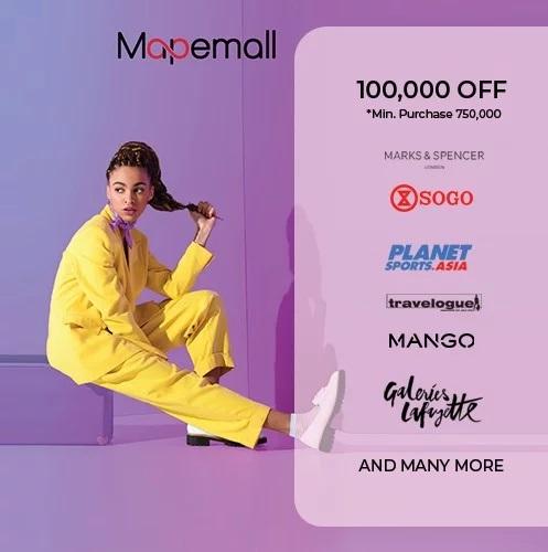 MAP E-Mall Promo Voucher Belanja Rp 100.000!