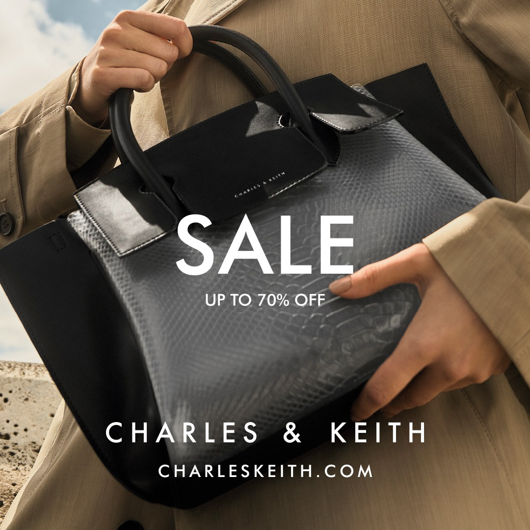 Charles Keith Promo Year End Sale Diskon Hingga 70