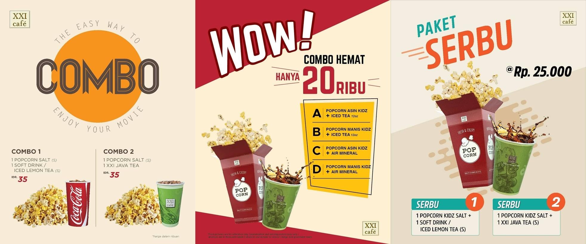 Cinema Xxi Nonton Asik Dengan Combo Hemat Harga Mulai Dari Rp 20 000