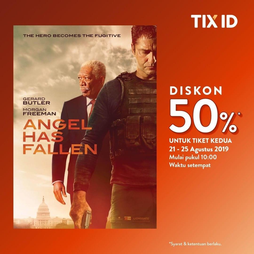 Cinema XXI Promo Nomat Diskon 50% Di TIX ID!