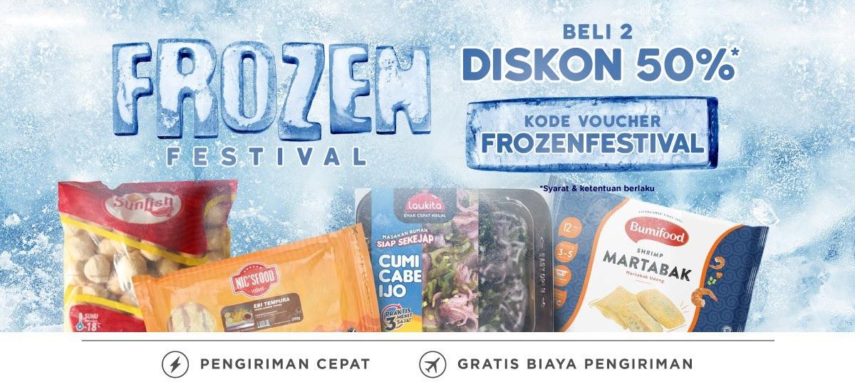 Blibli Promo Frozen Food, Diskon Sampai Dengan 50%