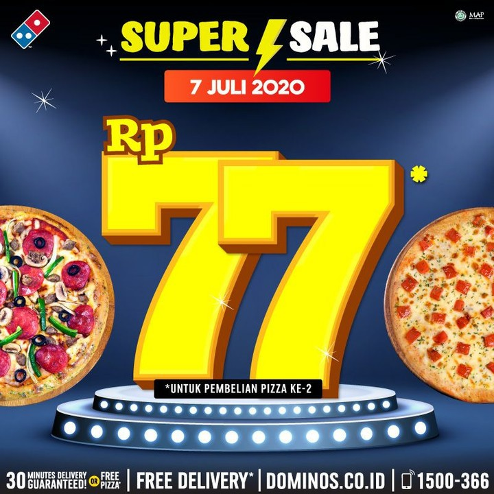 Promo Domino Pizza Juli 2020