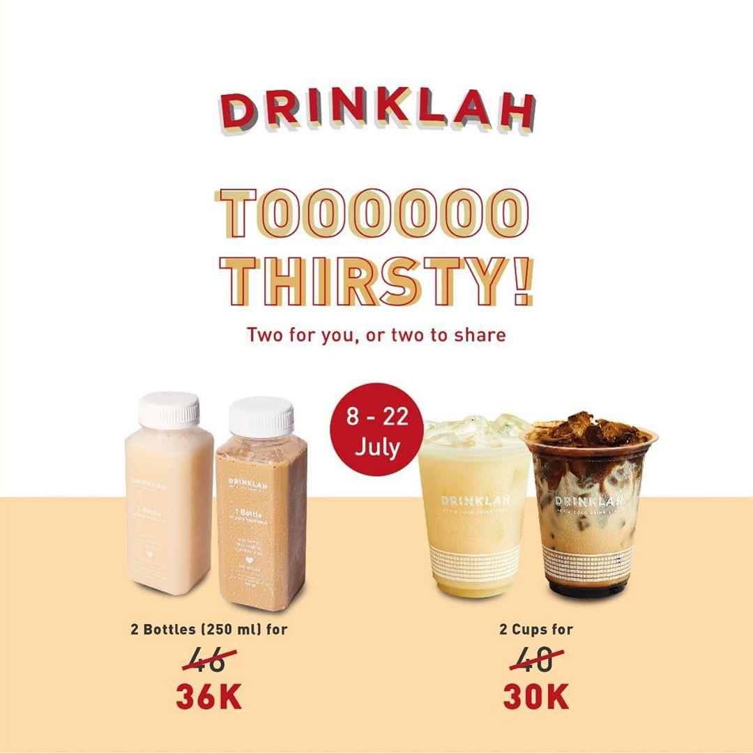 Eatlah Promo Paket Bundling Drinklah, Mulai dari Rp 30.000!