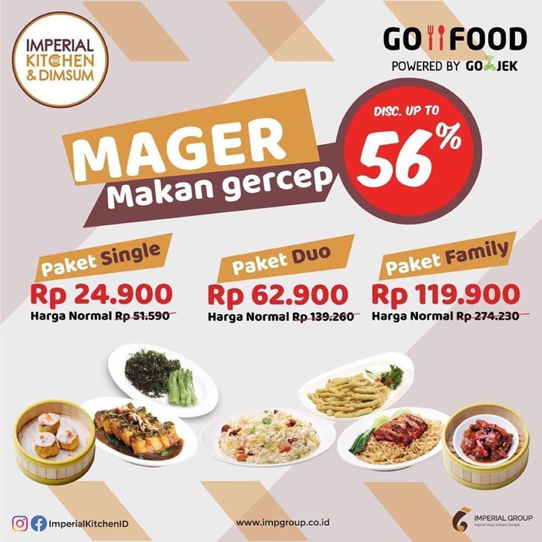 Imperial Kitchen Promo Makan Gercep, Diskon 56%!
