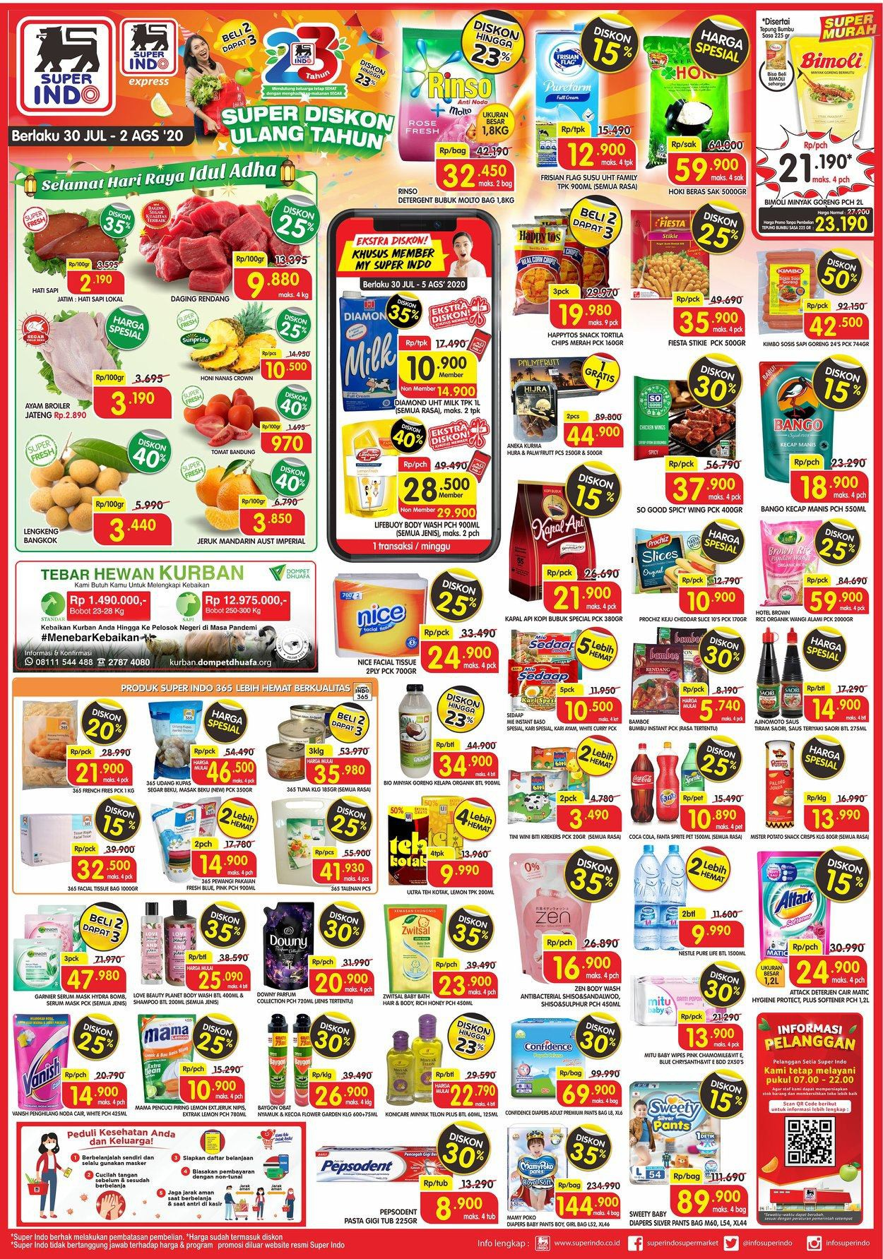 Katalog Promo JSM Superindo Periode 30 Juli - 2 Agustus 2020