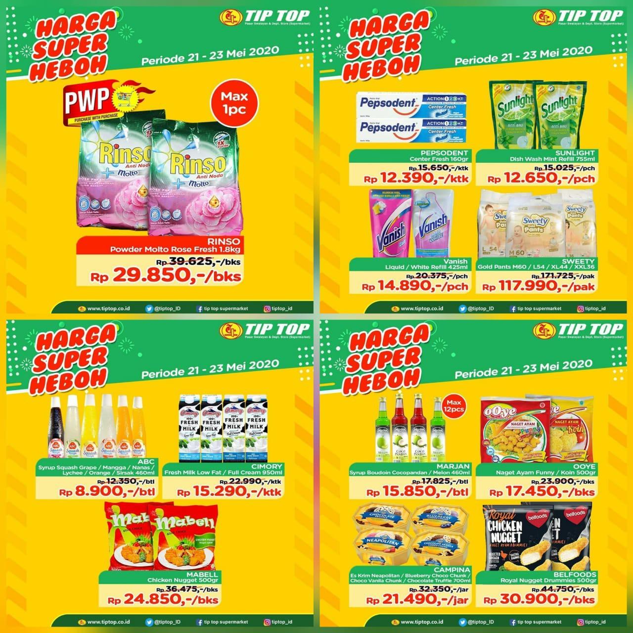 Katalog Promo JSM Tip Top Swalayan Periode 21-23 Mei 2020