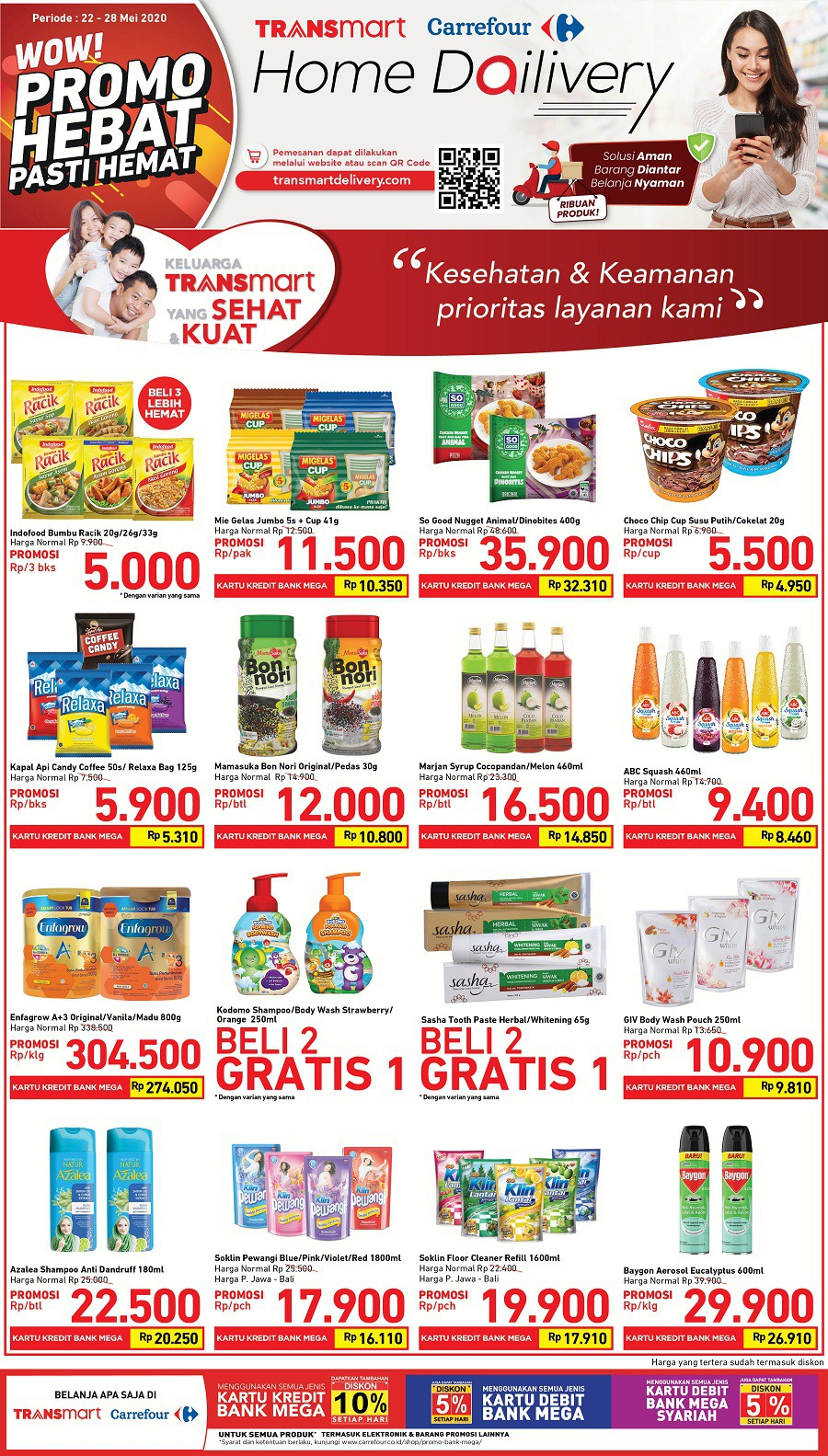 Katalog Promo JSM Transmart Carrefour 22-28 Mei 2020
