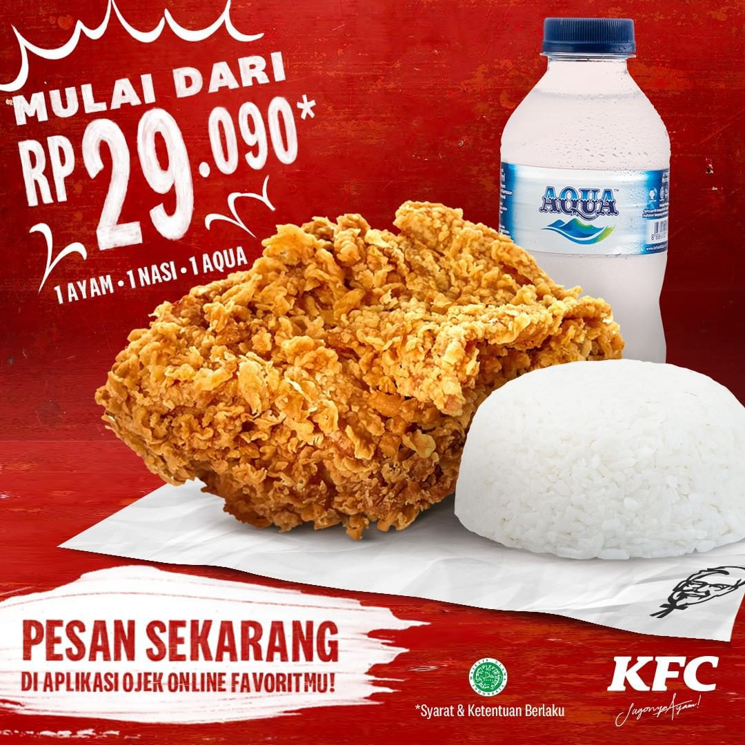 KFC Makan Enak Dan Hemat Cuma Rp. 29 Ribuan! Cek Di Sini Promonya!