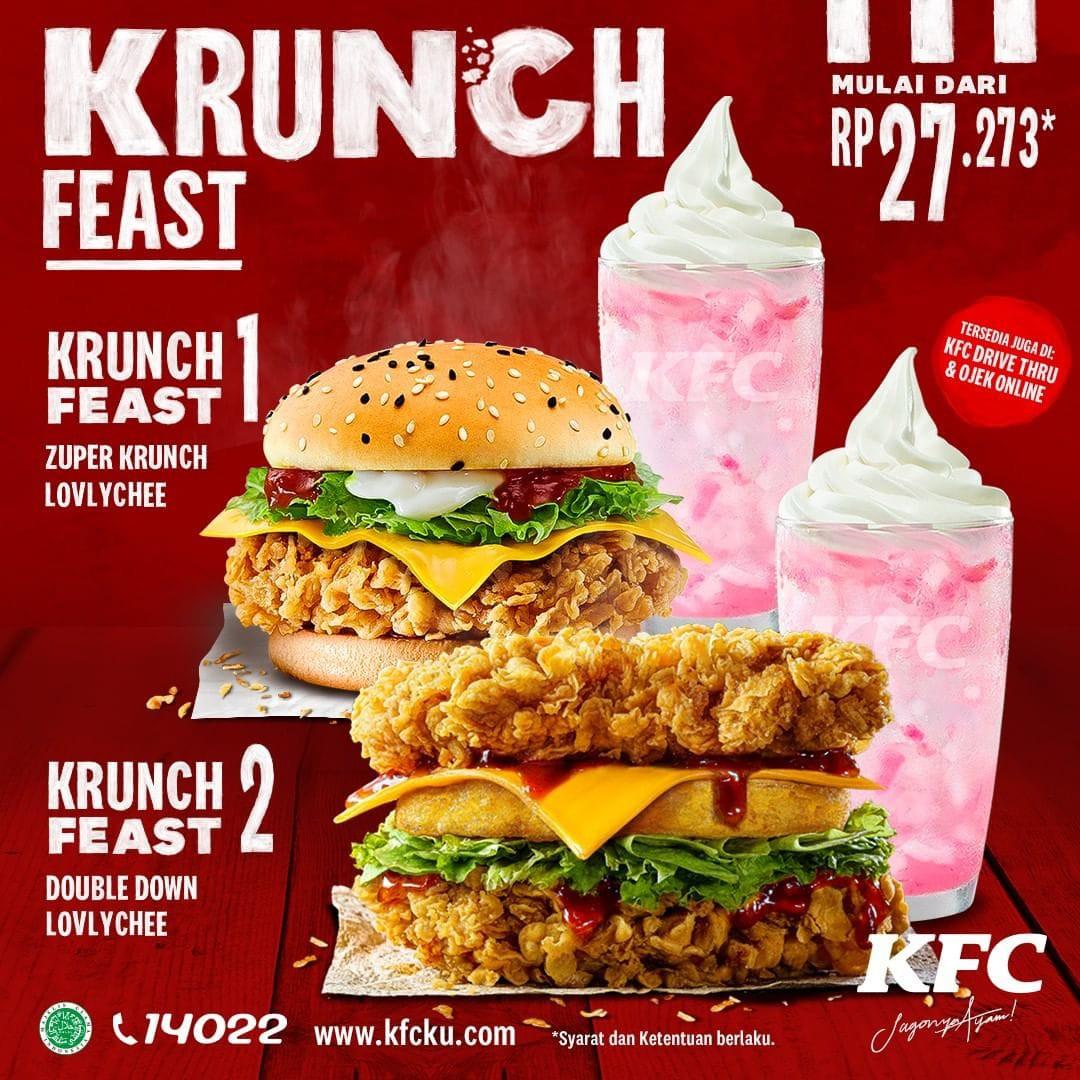 PROMO KFC Terbaru 24 Agustus 2020, Super 7 Hari Spesial ...