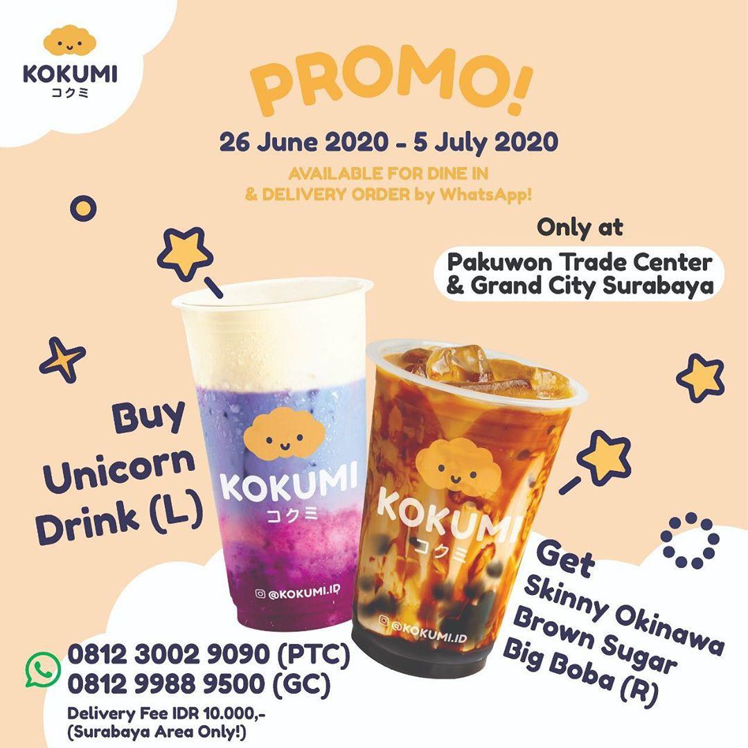 Kokumi Promo Spesial Buy One Get One di Surabaya!